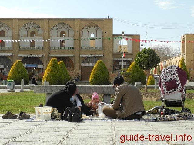 Традиционный отдых иранцев