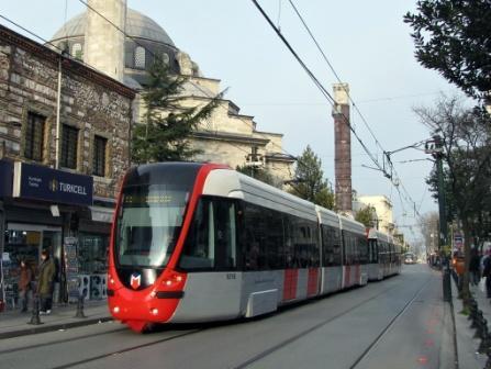 Стамбул фото - трамвай Т1