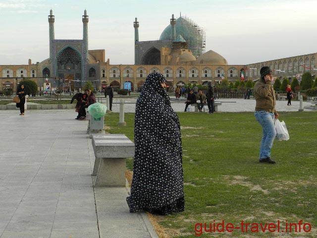 Чадра для посещения мечетей